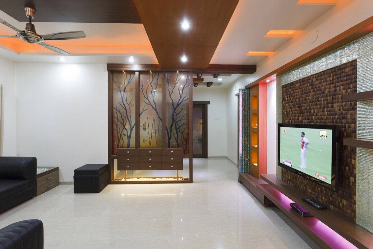 Living Room Interior Decorators Bangalore