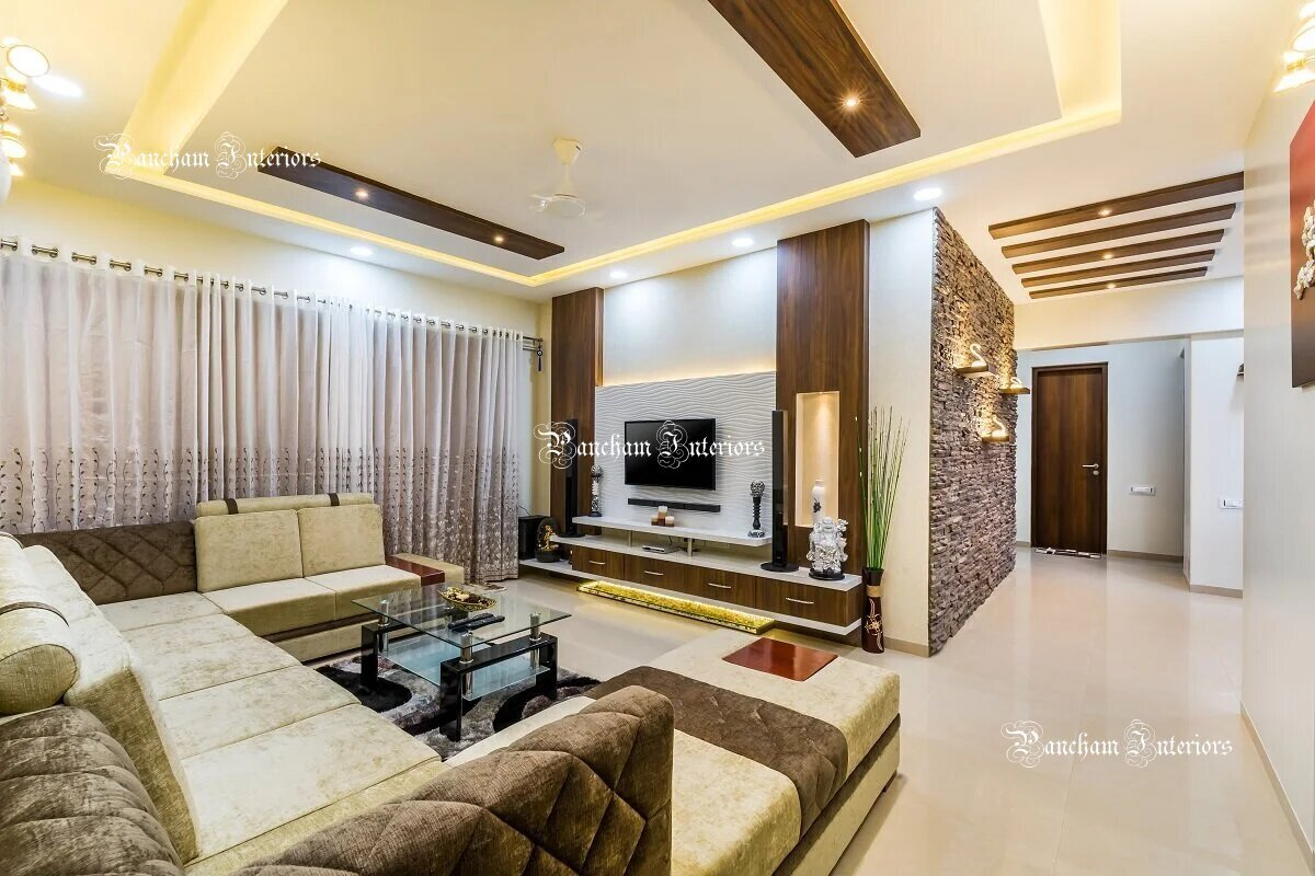 Living Room Interior Designers Bangalore